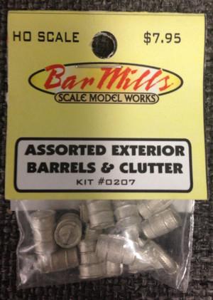 BAR MILLS 207 HO Barrels & Clutter