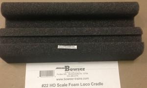 Bowser Trains 22 HO Foam Cradle Locomotive & Freight Car Tool