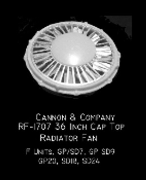 Cannon & Co 1707 36 In Cap Top Radiator Fan