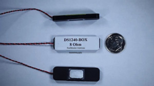 RailMaster DS1240-Box Speaker 8 Ohm