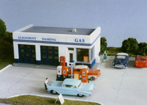 City Classics 108 HO Crafton Ave Service Gas Station (Kit)