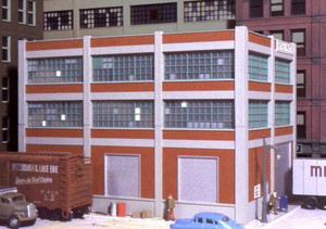 City Classics 103 HO Smallman Street Warehouse Kit