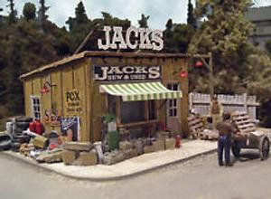"BAR MILLS 542 HO Jack's Backyard ""New & Used"" - Laser-Cut Craftsman Kit"