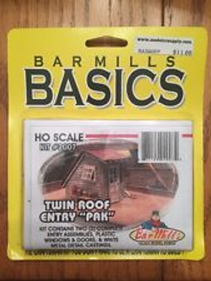 BAR MILLS 2007 HO Roof Entries