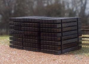 Osborn Models 1095 HO Bundle of Ties Laser Cut wood kit