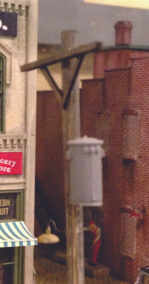 BAR MILLS 2021 Utility Pole Transformers HO Scale