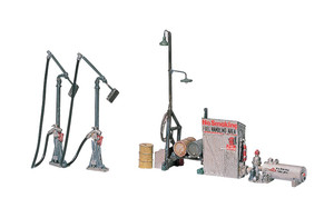 Woodland Scenics 232 HO scale Diesel Fuel Facility Kit