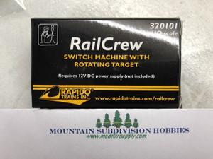Rapido 320103 Railcrew Switch Machine - 12 Pack
