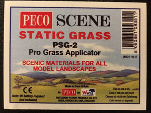 PECO Scene PSG-2 PRO VERSION Static Pro Grass Micro Applicator