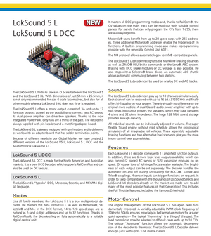 ESU 58325 Loksound 5 L DCC