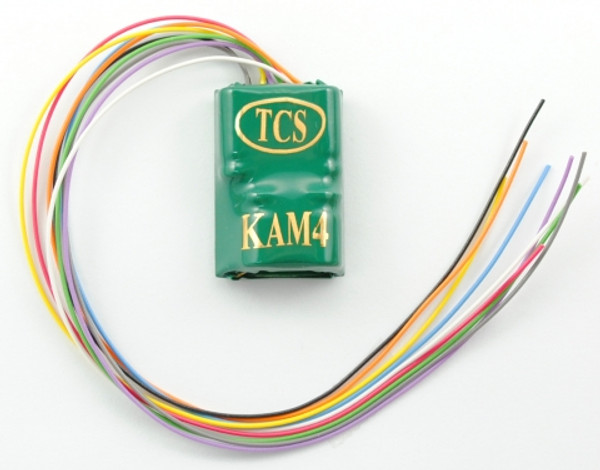 TCS 1485 KAM4 DCC Decoder built-in KEEP ALIVE