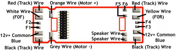 TCS 1622 Wiring Diagram