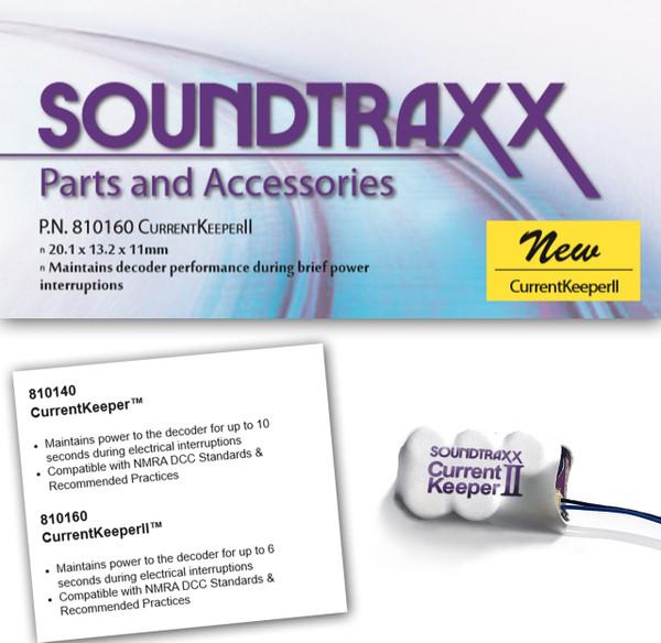 Soundtraxx 810160 CurrentKeeper II - Smaller Size!