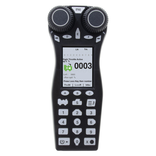 DIGITRAX DT602D Advanced Duplex Super Throttle - New in 2020