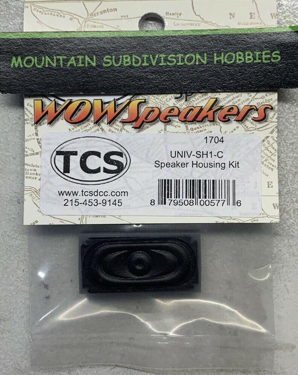 TCS 1704 UNIV-SH1-C Speaker and Housing/Enclosure kit 16x35mm