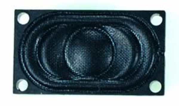 "Soundtraxx 810113 Speaker 0.63"" x 1.38"" narrow oval 8 Ohm"