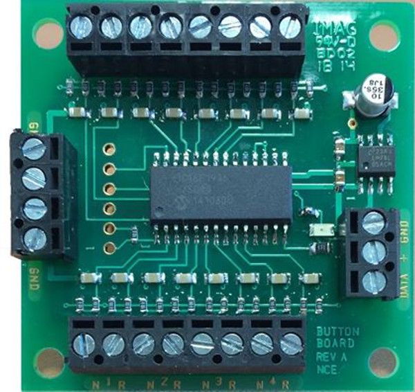 NCE 152 Button Board