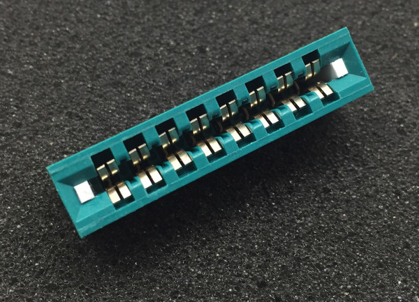 """100 Edge Connectors """"Exact Fit"""" for Circuitron Tortoise Switch Machines"""