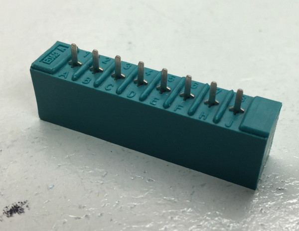 "12 PK Edge Connector ""Exact Fit"" for CIRCUITRON TORTOISE Switch Machine"