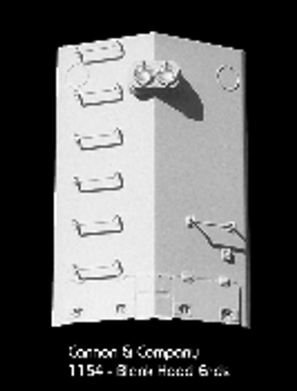 Cannon & Co 1154 EMD Blank Long Hood Ends (2) -2 50 60 70 Series