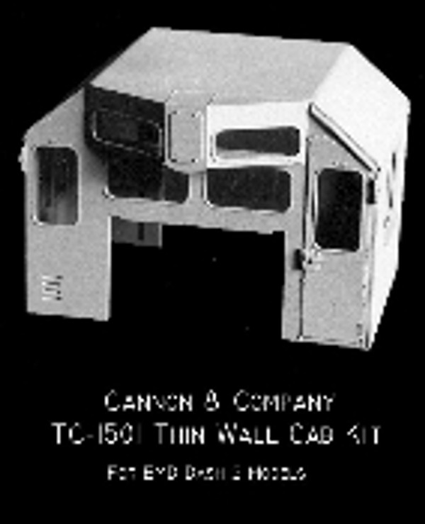 Cannon & Co 1501 EMD Hood Unit Cab Kit Dash 2 and GP/SD 50/60/70 Series