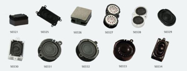 ESU 50326 Speaker 14mm x 12mm with sound chamber kit