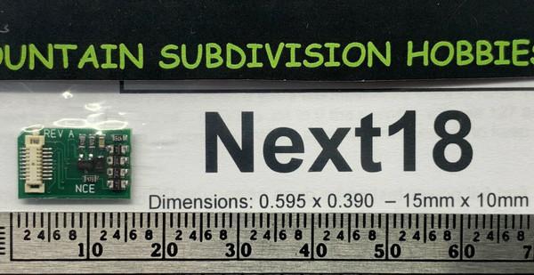 NCE 178 Next18 DCC Decoder (NEM-662)    NEW ITEM!