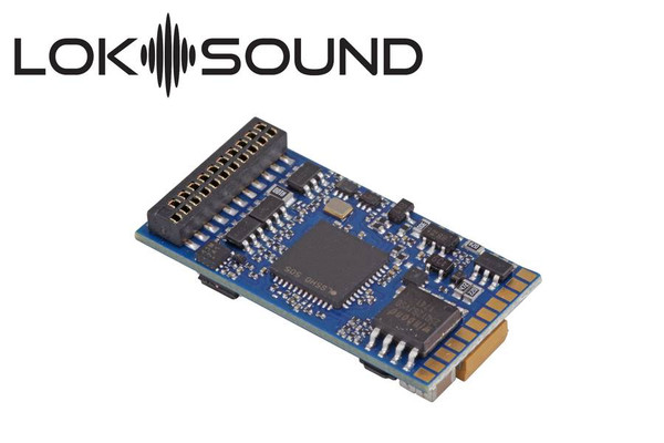 ESU 58419 LokSound 5 21 Pin DCC/MM/SX/M4 21MTC NEM 660 & Speaker 11x15mm