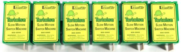 Circuitron 6006 Tortoise Switch Machine 6 Pack