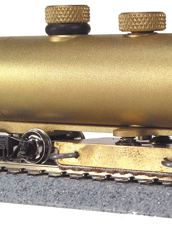 "CMX HO Brass Track Cleaning Car ""Clean Machine"" - FREE USA SHIPPING"
