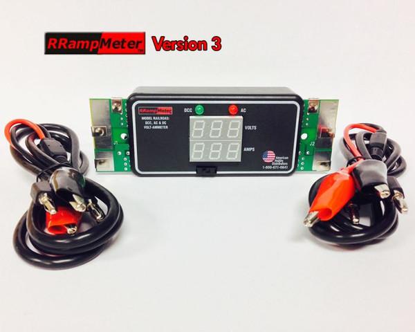 DCC Specialties RRampmeter V3 Version 3 (Battery Backup)