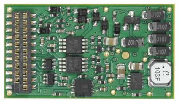 TCS 1527 Train Control Systems WOW121 Diesel Sound Decoder V4 - 21 Pin
