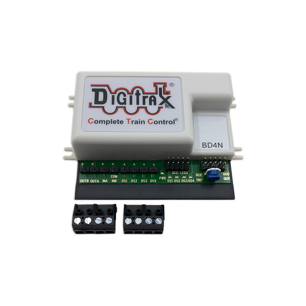 Digitrax BD4N DCC 4 Block Occupancy Detector