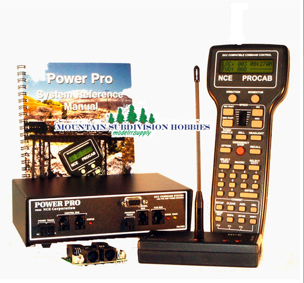 NCE 2 POWER HOUSE PRO 5A Wireless Radio DCC System with ProCab PH-PRO-R    (Login for lower price)