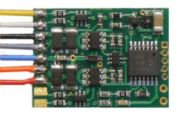 NCE 177 D13WP NMRA Plug in DECODER 4 function (was 102 D13SRP)