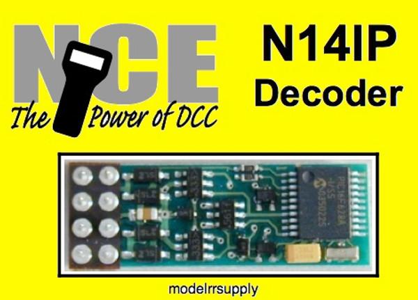 NCE 128 N14IP NMRA 8pin HO N DECODER