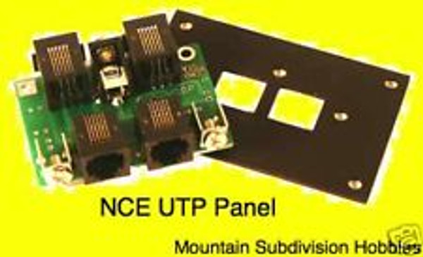 NCE 207 UTP Cab Bus Fascia Panel
