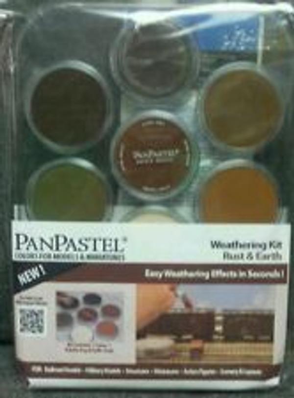 PanPastel 30701 Rust & Earth Weathering Kit