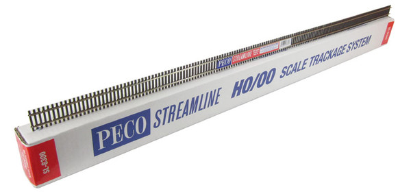 PECO SL-8300 HO code 83 Flex track 3' section Box/25