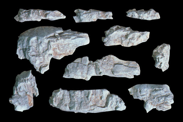 Woodland Scenics C1230 Rock Mold - Outcroppings
