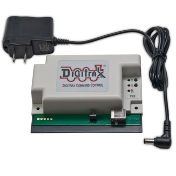 Digitrax PR4 USB Programmer & Computer Interface with Power Supply