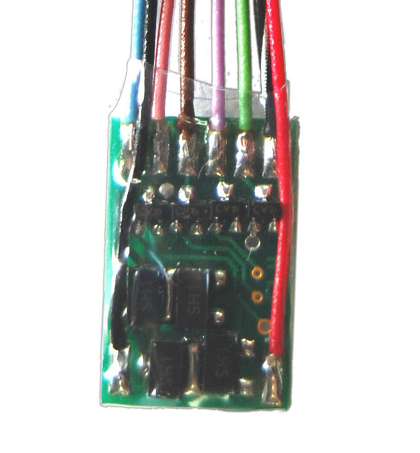 TCS 1004 FL4 4 Function only Lighting Decoder
