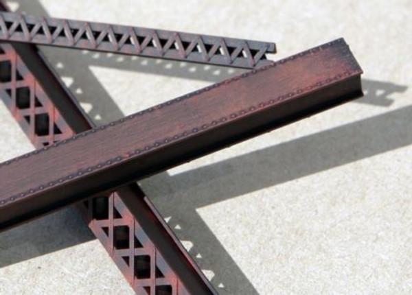 "CENTRAL VALLEY 1900-5 Heavy Duty Lace Bridge Girders 30"" HO scale"