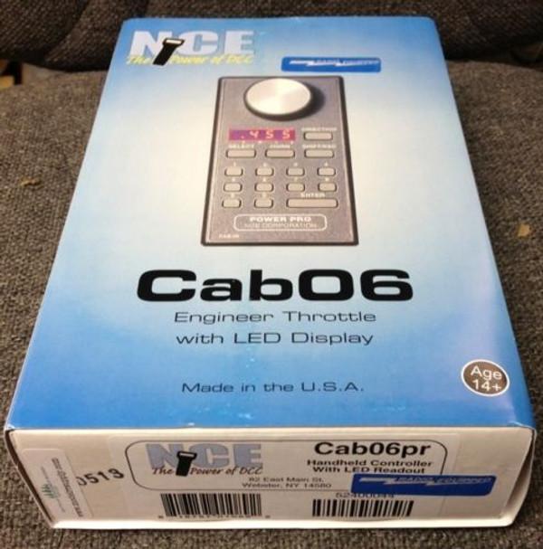 NCE 44 Cab06pR Intermediate DCC Cab Throttle (potentiometer knob)
