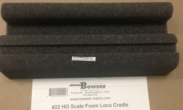 BOWSER 22 HO Foam Cradle