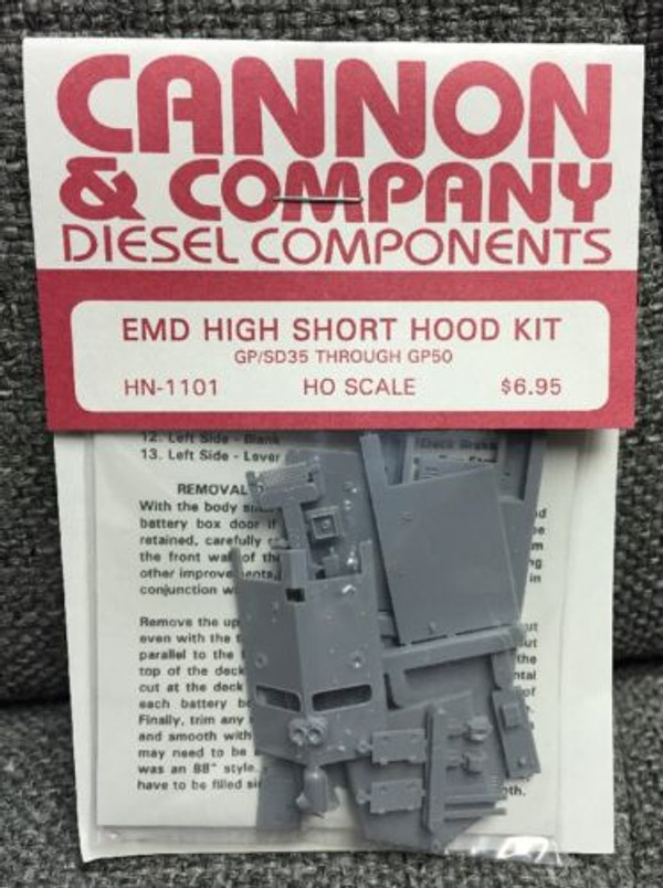 Cannon & Co 1101 EMD High Nose Kit Perfect for: NS N&W Southern