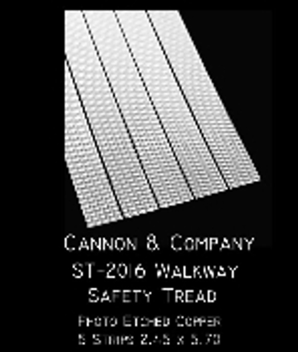 Cannon & Co 2016 Walkway Safety Tread Strips