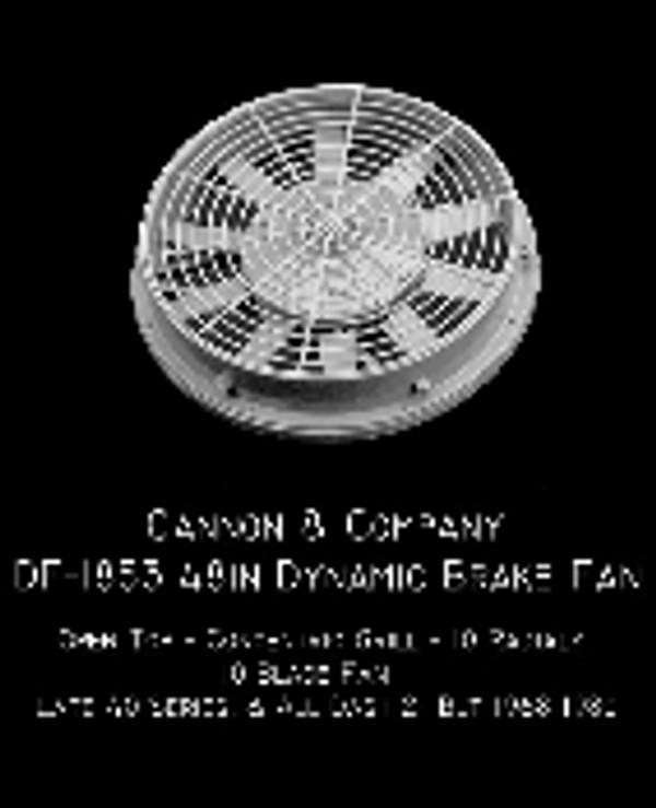 Cannon & Co 1853 Thinwall 48 Inch Dynamic Brake Fan