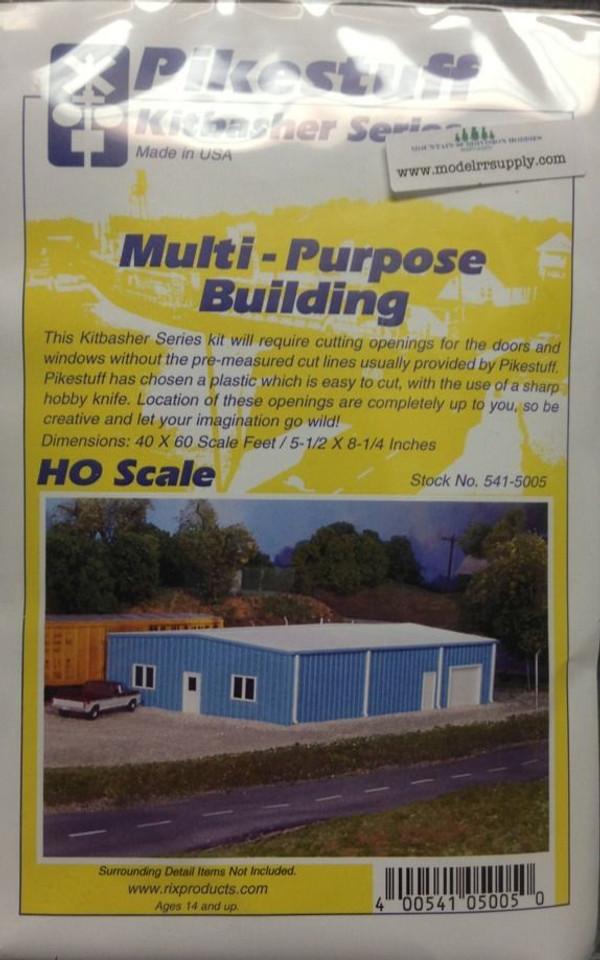 Pikestuff 5005 HO Multi Purpose Building kit
