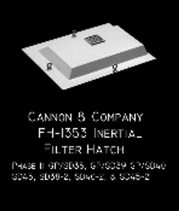 Cannon & Co 1353 Dust Bin - 35/40 Series